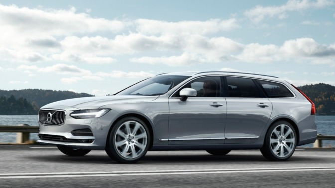 Volvo anunta un nou V90 – video