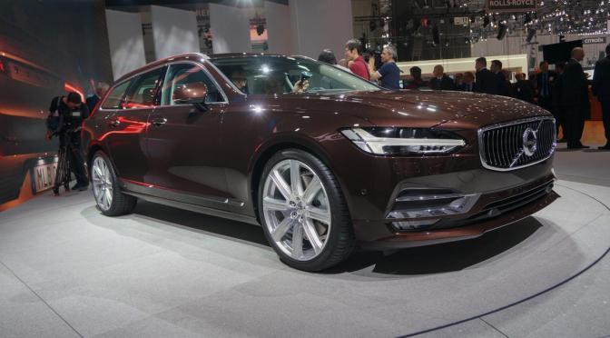 Volvo lanseaza viitorul V90