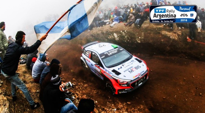 Clasamente finale YPF Rally Argentina 2016