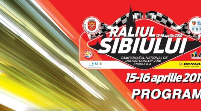 Raliul Sibiului 2016 – Program, Harta si alte informatii