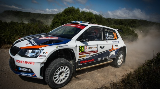 Rezultate finale Rally Italia Sardegna 2016
