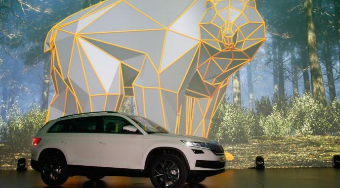 Noua Skoda Kodiak – primul SUV Skoda de mari dimensiuni