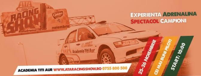 Weekendul acesta mergem la ATA Racing Show 2016