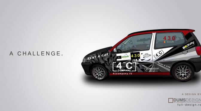 O provocare – Design auto pentru Cristi Constantin by DUMS Design