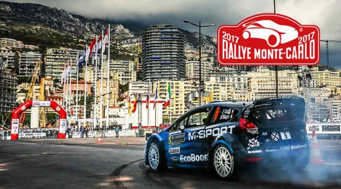 Prima etapa din WRC 2017 – Rally Monte Carlo