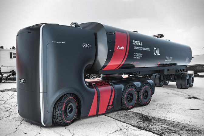 Audi Truck Project Plan B – Insane