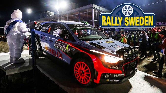 Urmatoarea etapa din WRC – Rally Sweden 2017