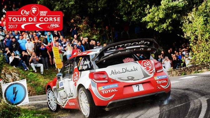 Urmatoarea etapa din WRC: Che Guevara Energy Drink Tour de Corse