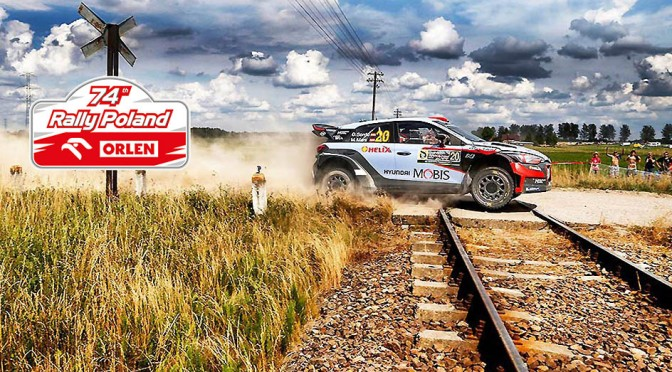 Urmatoarea etapa din WRC – Orlen 74th Rally Poland