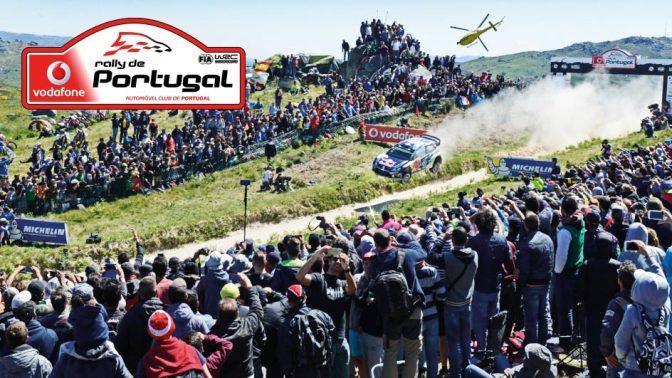 Urmatoarea etapa din WRC – Vodafone Rally de Portugal