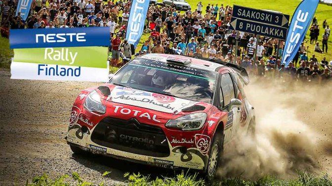 Urmatoarea etapa din WRC – Neste Rally Finland