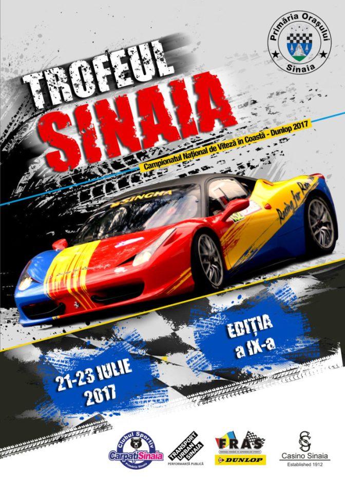 Trofeul Sinaia Forever 2017 – Campionatul National de viteza in Coasta
