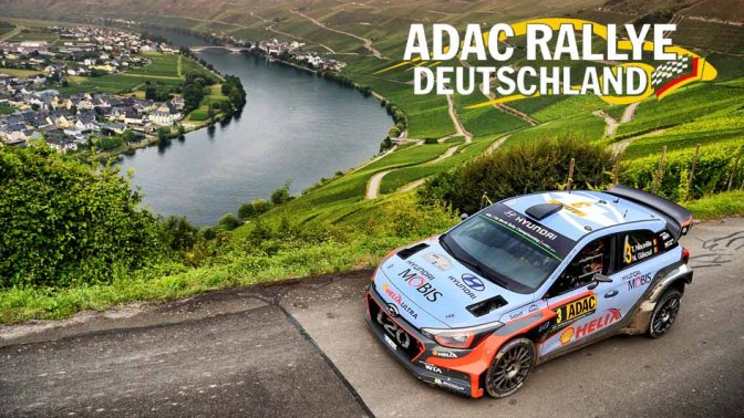 Urmatoarea etapa din WRC – ADAC Rallye Deutschland 2017