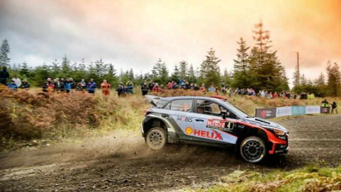 Urmatoarea etapa din WRC Dayinsure Wales Rally GB