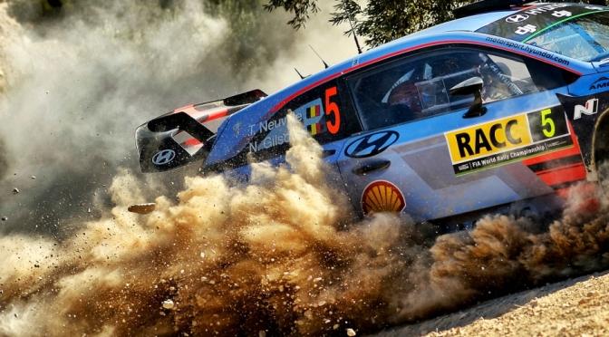 Rezultate Rally RACC Spania 2017