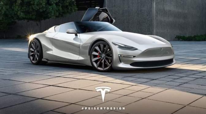 Tesla Roadster – 3 ani de asteptare cu un avans de 50.000 USD