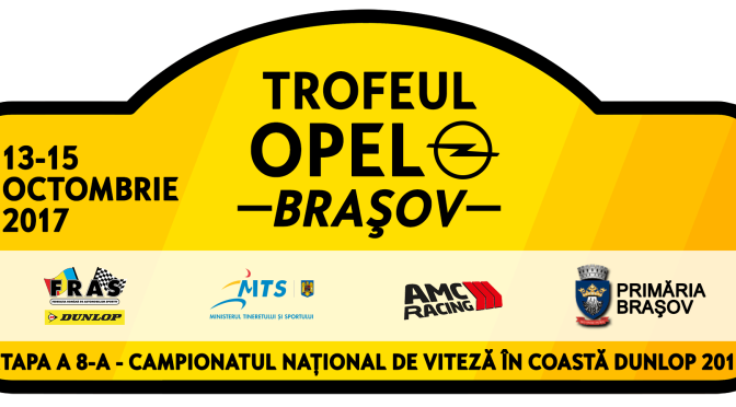 Trofeul Opel 2017 program, harta – Campionatul National de viteza in coasta