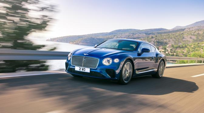Noul Bentley Continental GT 2017