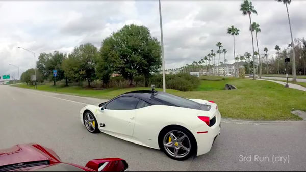 Tesla Model S vs Ferrari 458 Italia