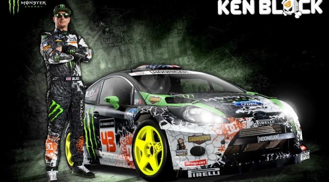 Ford iau in calcul colaborarea cu Ken Block in WRC 2018