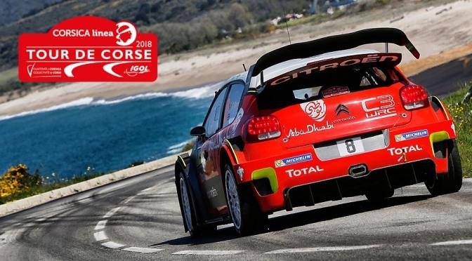 Urmatoarea etapa din WRC – Tour de Corse 2018