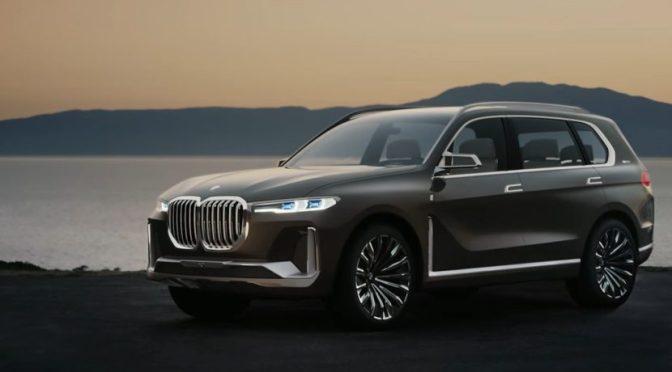 BMW X7 – detalii, data de lansare si pret