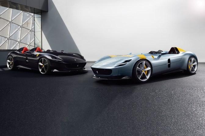 Ferrari prezinta modelele Monza – editie limitata