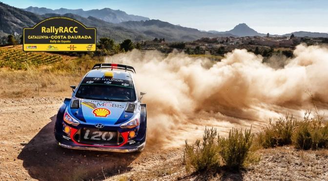 Urmatoarea etapa din WRC – RallyRACC Catalunya