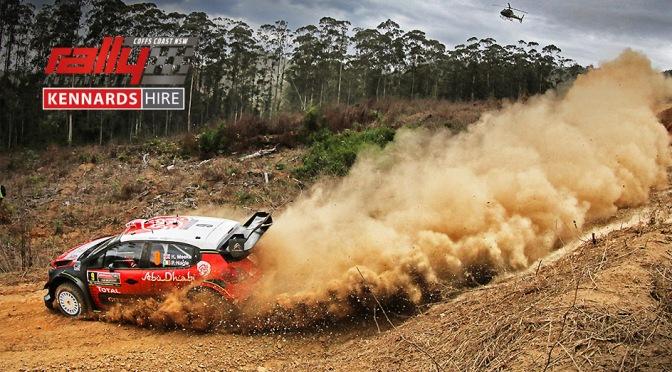Urmatoarea etapa din WRC – Kennards Hire Rally Australia