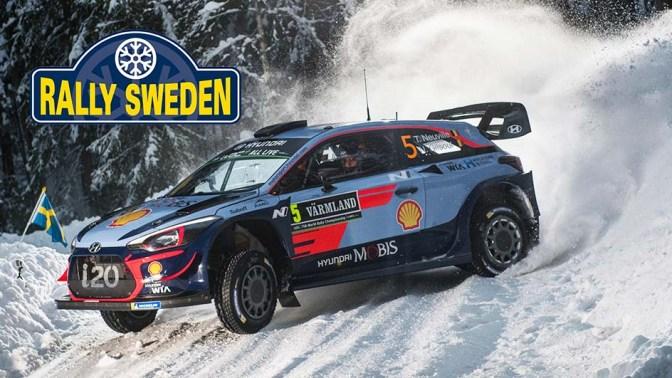Urmatoarea etapa din WRC – Rally Sweden 2019