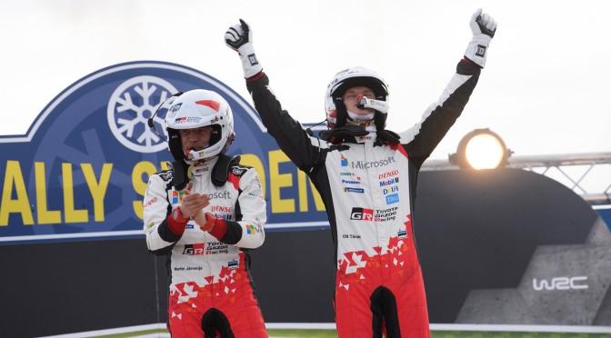 WRC Sweden castigat de Tanak – rezultate WRC 2019