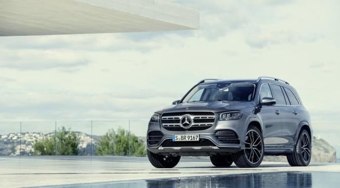 Noul Mercedes-Benz GLS va avea o functie speciala pentru mersul la spalatorie