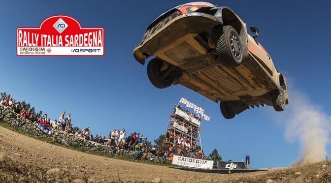 Urmatoarea etapa din WRC – Rally Italia Sardegna