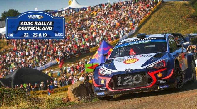 Urmatoarea etapa din WRC  – ADAC Rallye Deutschland