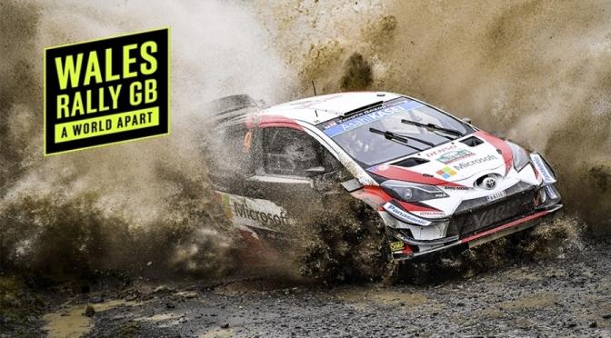 Urmatoarea etapa din WRC – Wales Rally GB