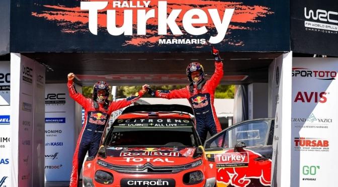 Ogier castiga Raliul Turciei – rezultate finale WRC 2019