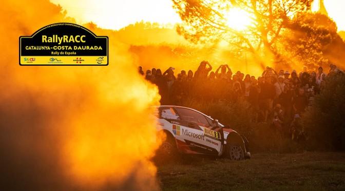 Urmatoarea etapa din WRC – Rally RACC Catalunya