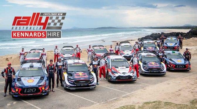 Ultima etapa din WRC 2019 – Kennards Hire Rally Australia